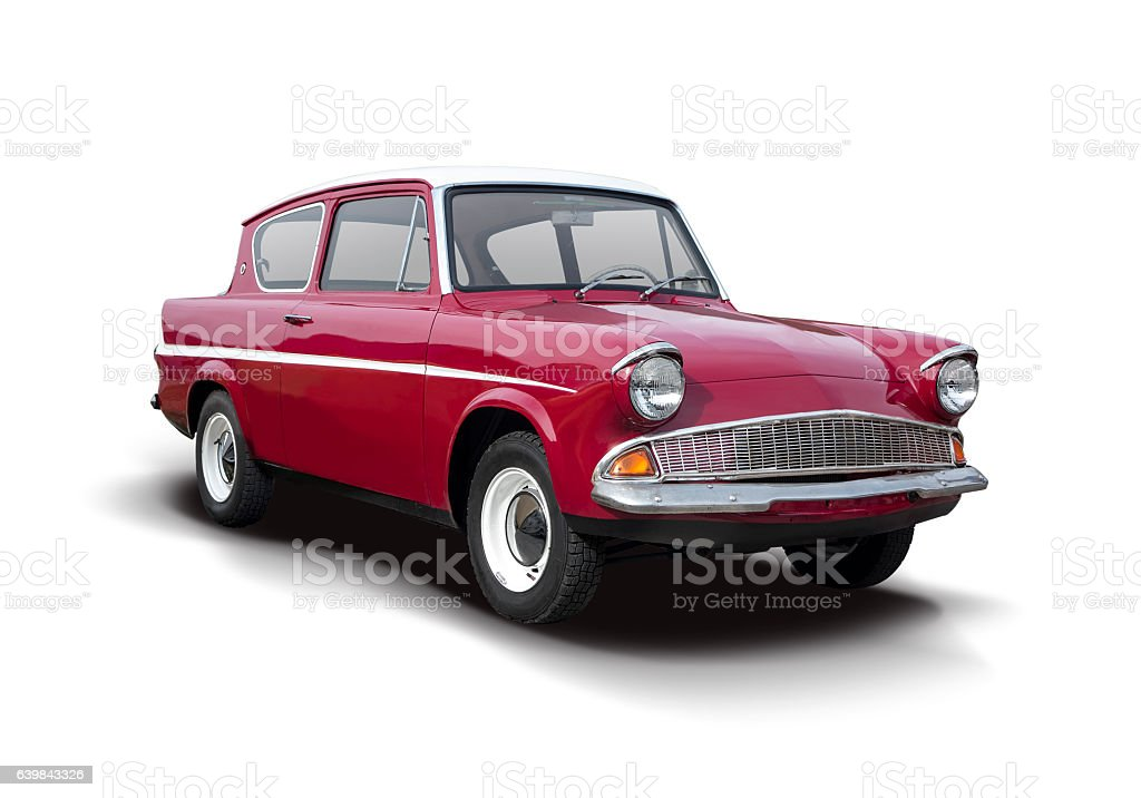 Classic British Car stock photo