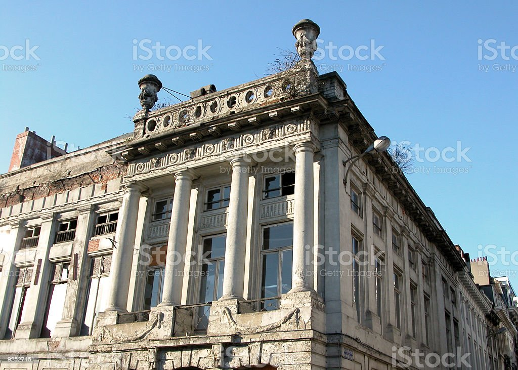 Classic building  from  Brussels royalty-free stock photo