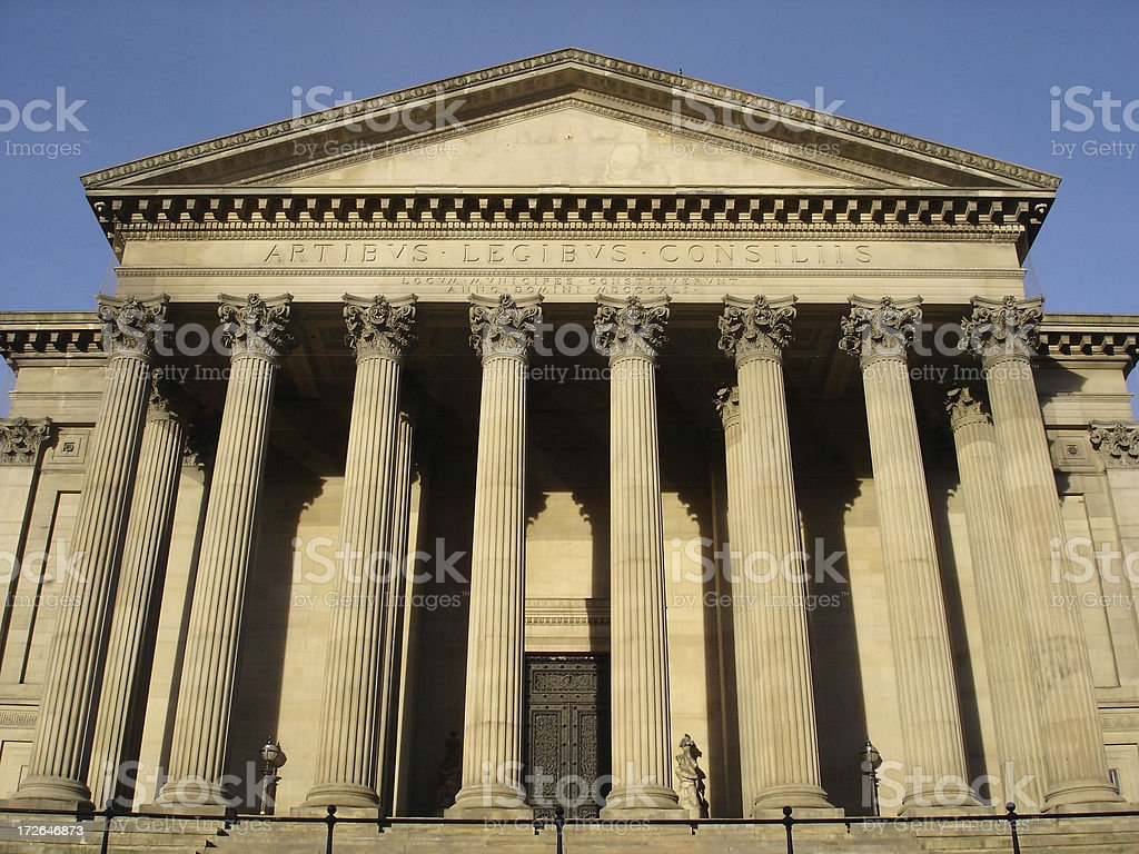 Classic Building stock photo