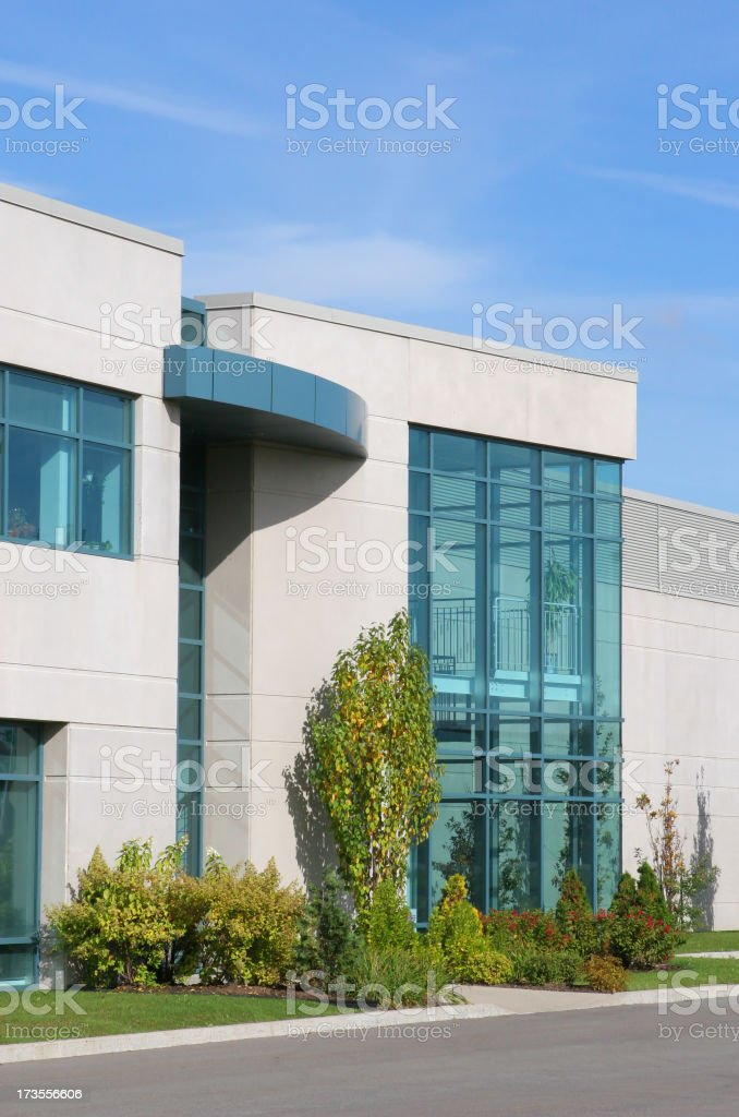 Classic Business Entrance royalty-free stock photo