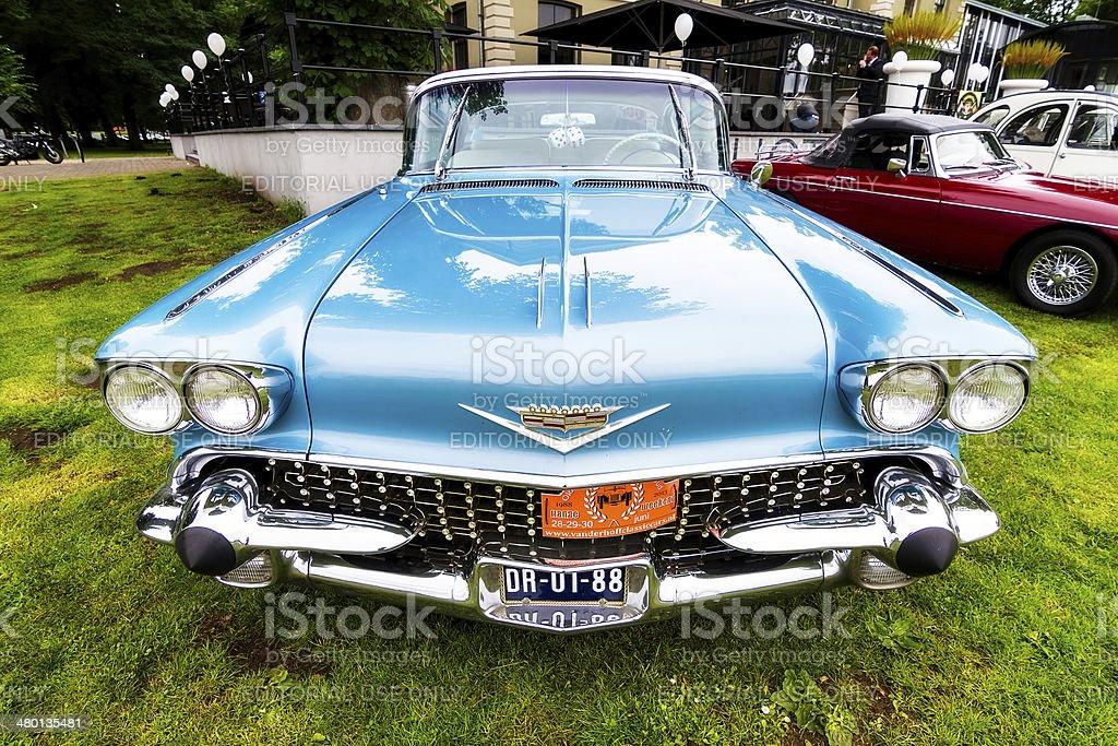 Classic Cadillac stock photo