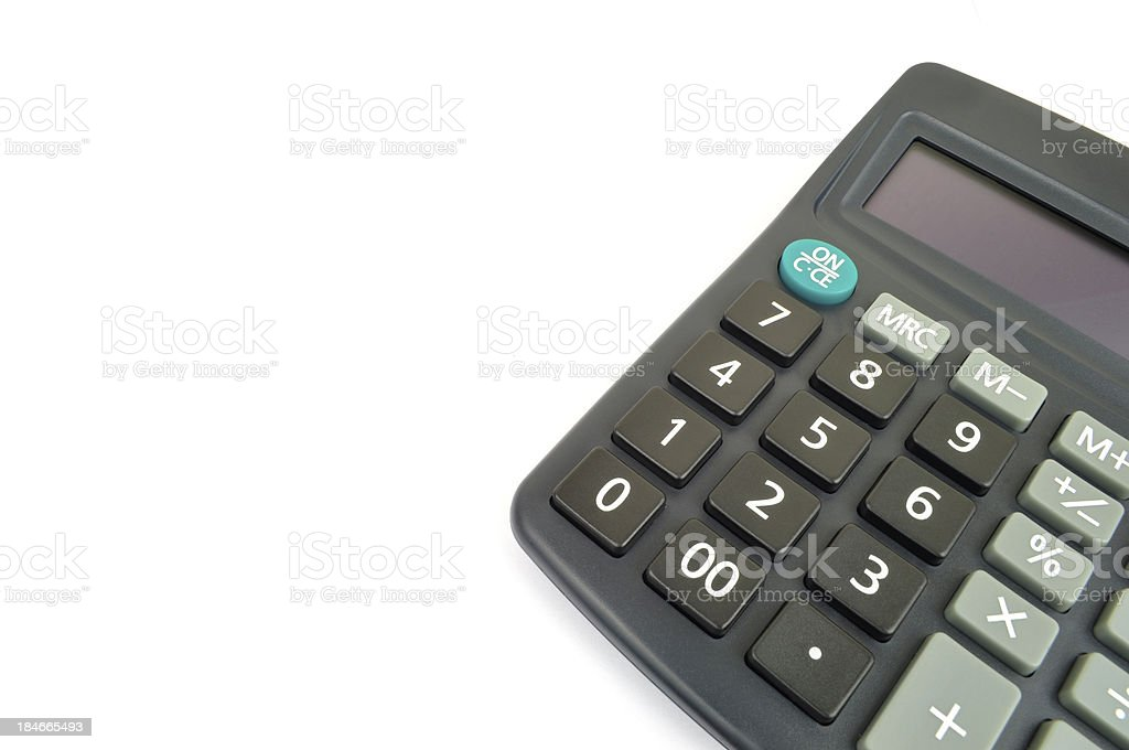 Classic Calculator royalty-free stock photo