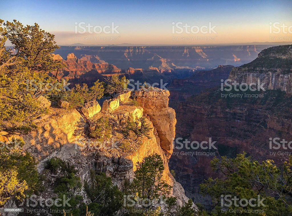 Classic canyon stock photo