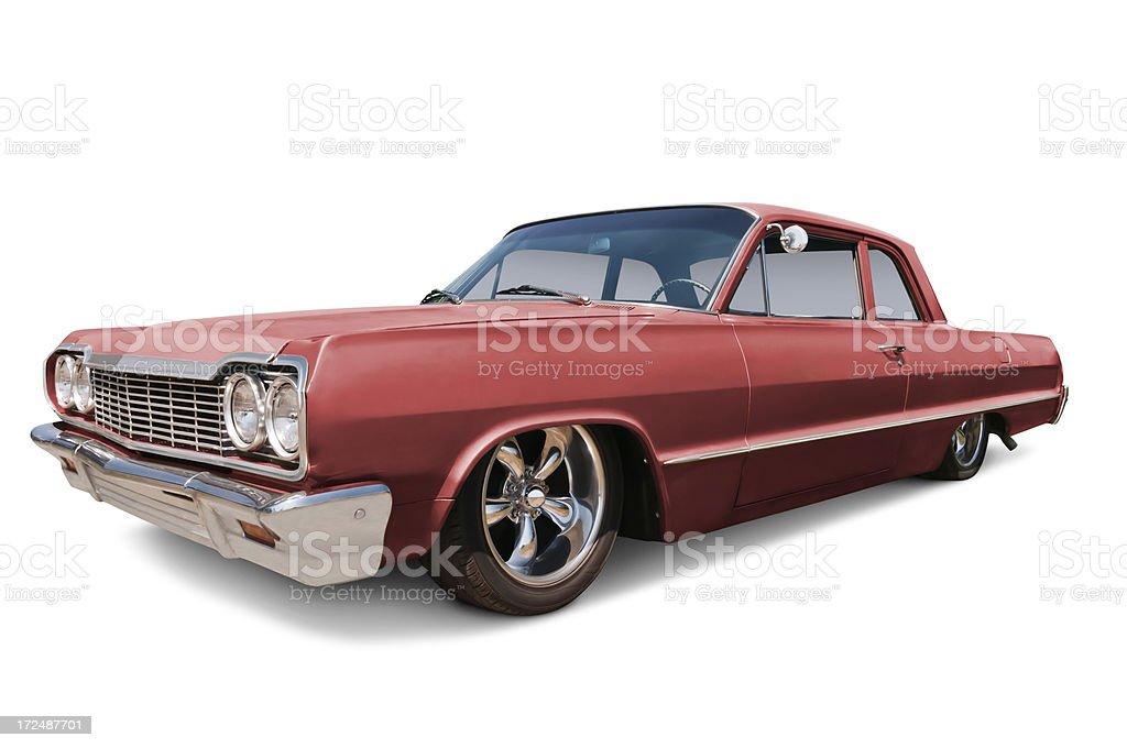 Classic Car - 1964 Chevrolet Impala stock photo