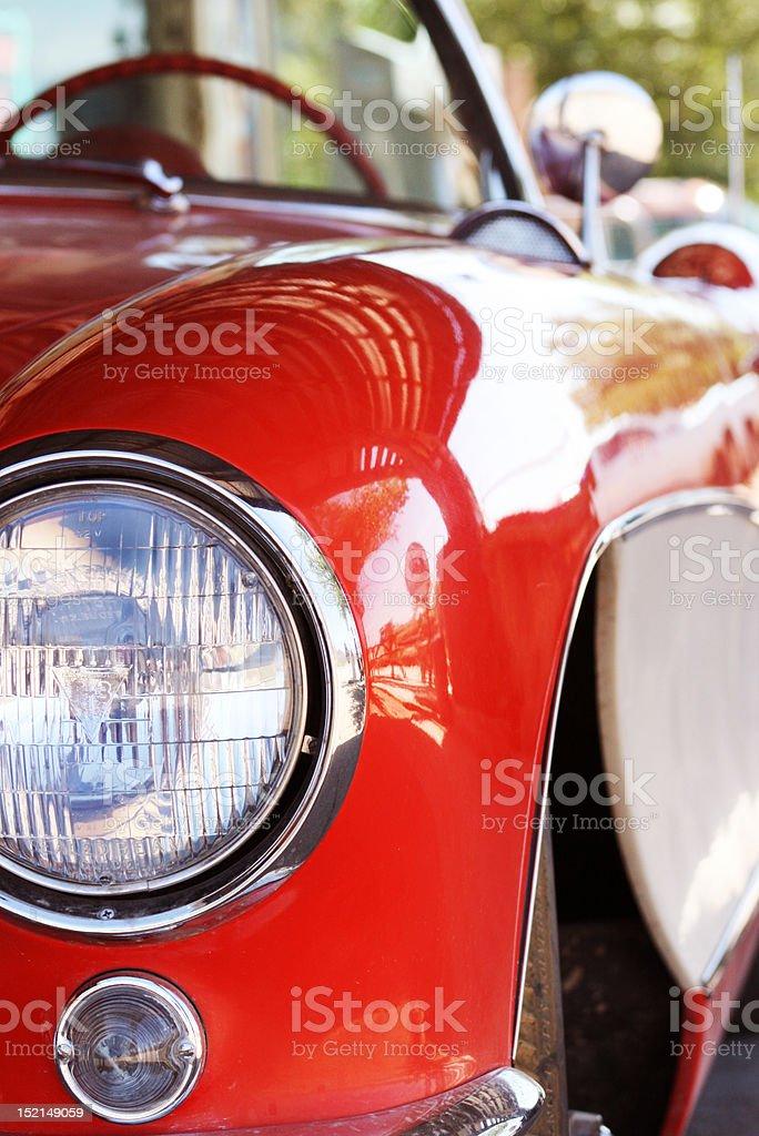 Classic Car Convertible stock photo