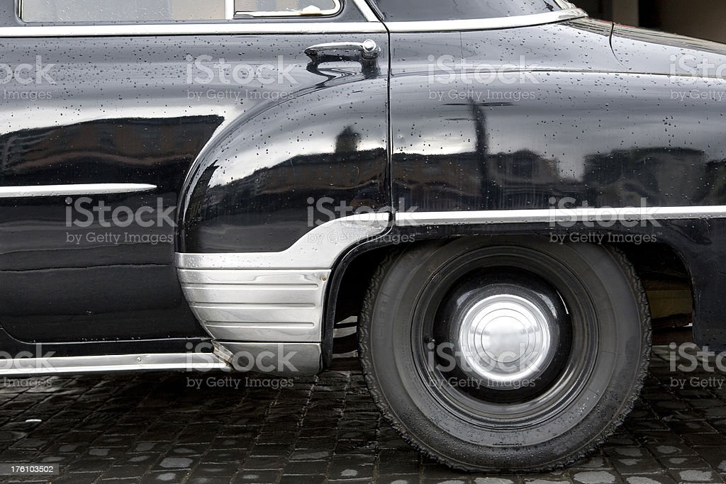 Classic Car Detail royalty-free stock photo