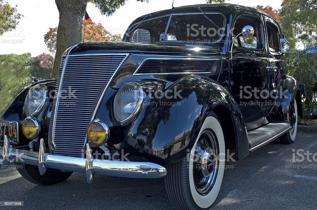 Un classico car-corpo foto stock royalty-free
