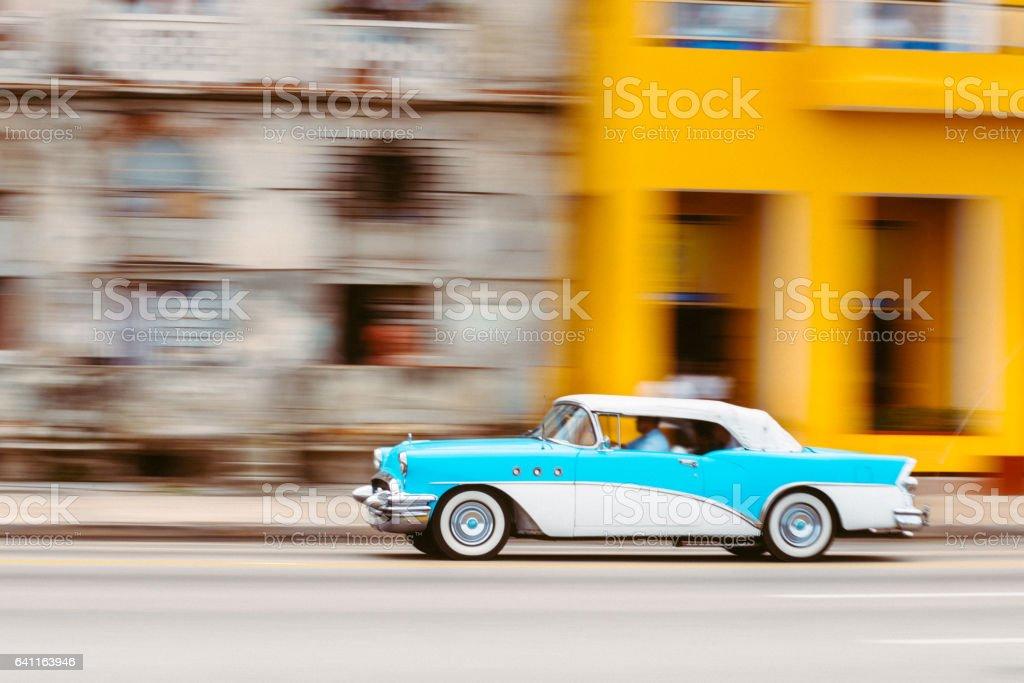 Classic Car Havana Cuba stock photo