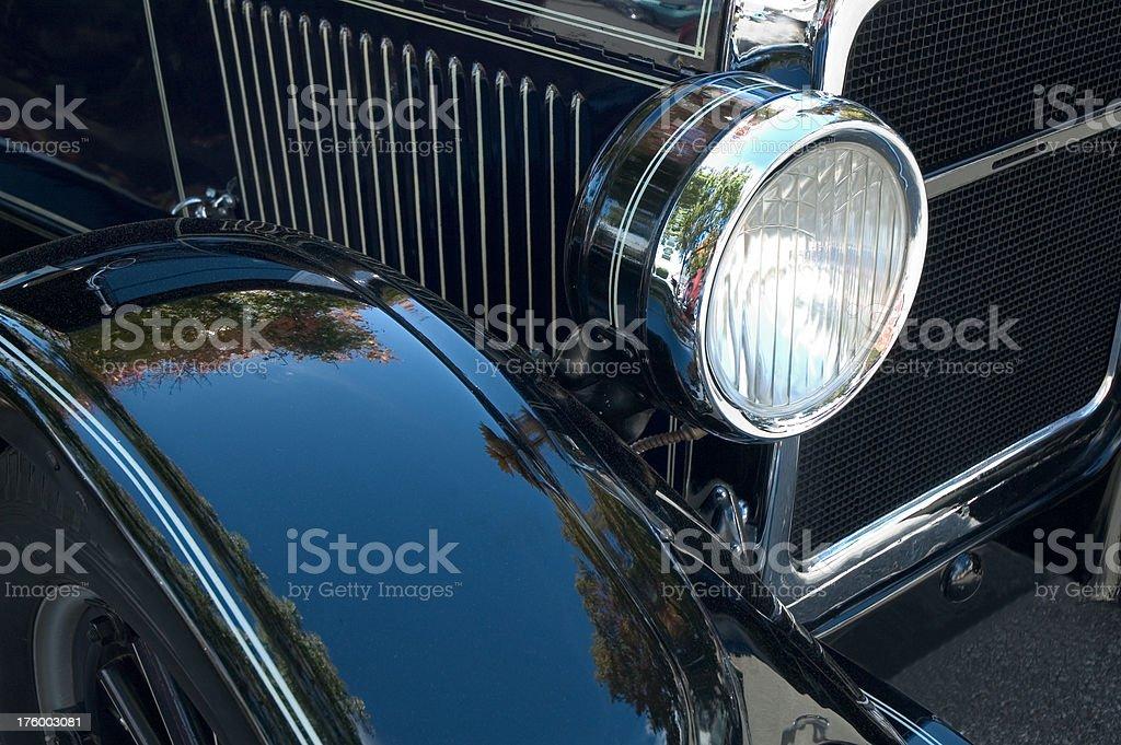 Classica auto Faro foto stock royalty-free