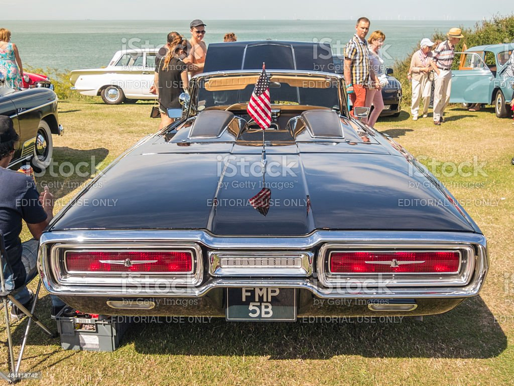 Classic Car Motor Show - Whitstable stock photo