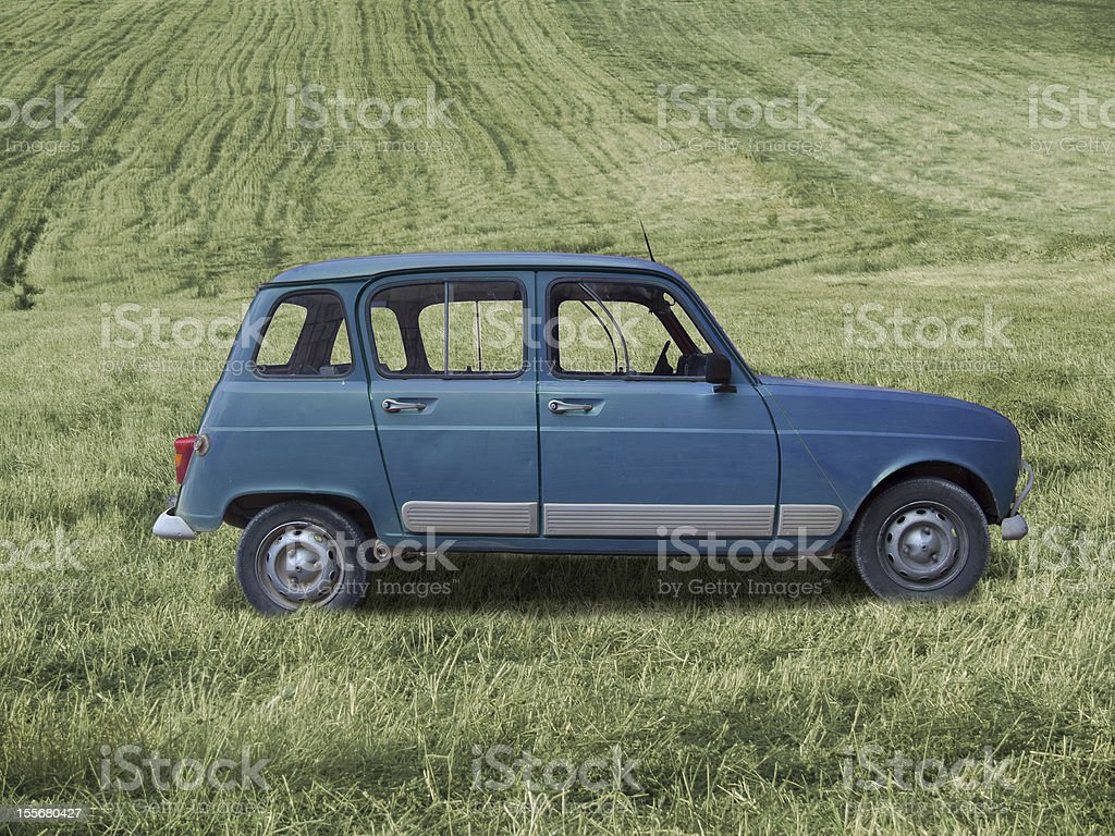 Classic car royalty-free stock photo