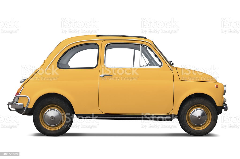 Fiat 500 classic stock photo