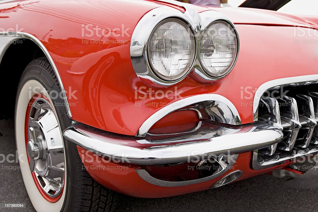Classic Car Series royalty-free stock photo