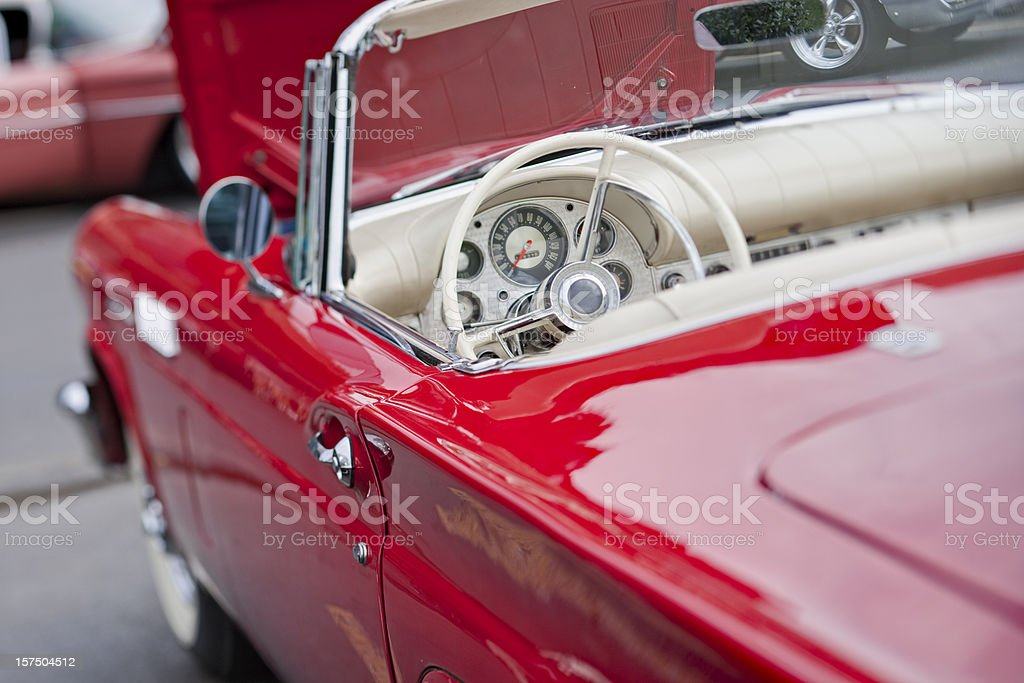 Classic Car Series (XXL) stock photo