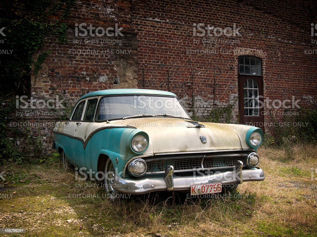 Classic car - Stock image stock photo
