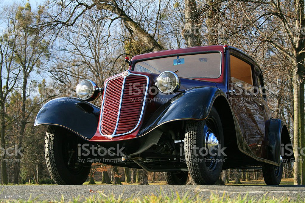 Oldtimer - Classic car royalty-free stock photo