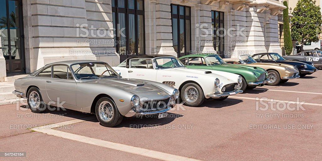 Classic Cars, Monte Carlo, Monaco stock photo