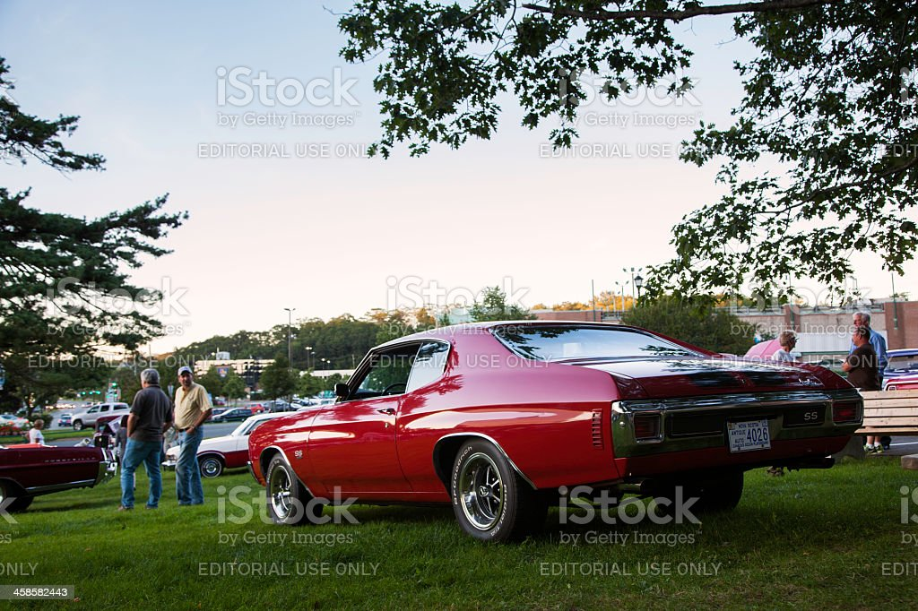 Classic Chevrolet Chevelle SS stock photo
