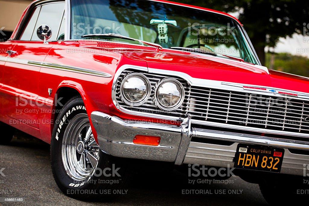 Classic Chevrolet Impala stock photo