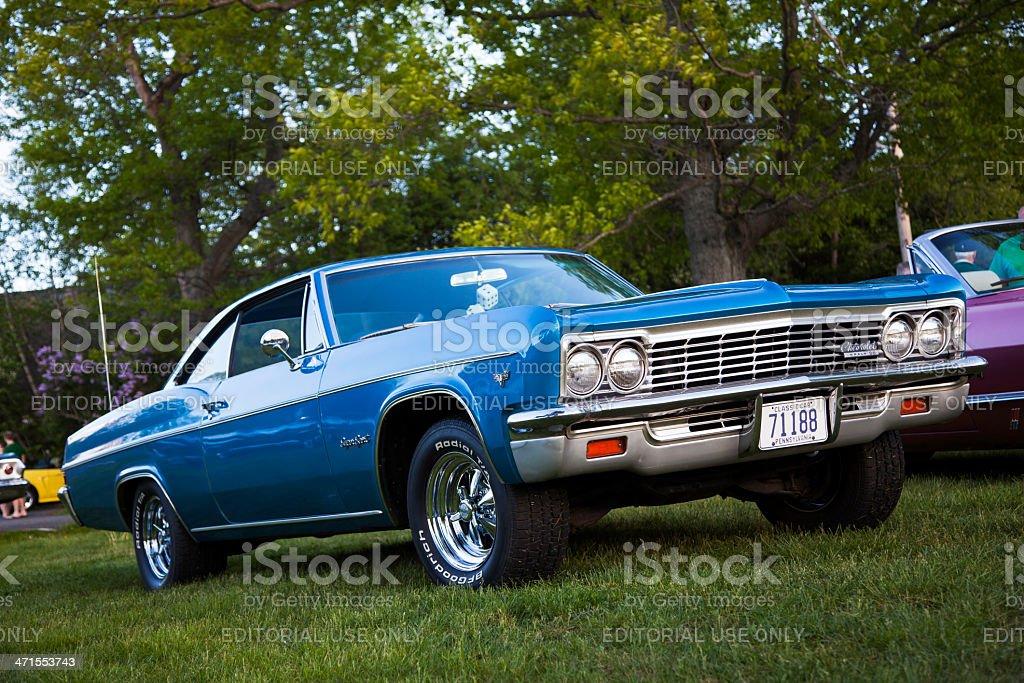 Classic Chevrolet Impala SS stock photo