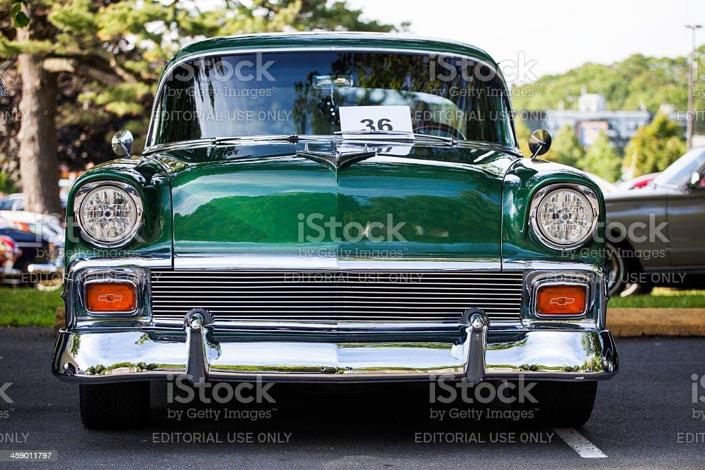 Classic Chevrolet stock photo