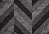 Classic chevron pattern background, grunge canvas texture, hi res