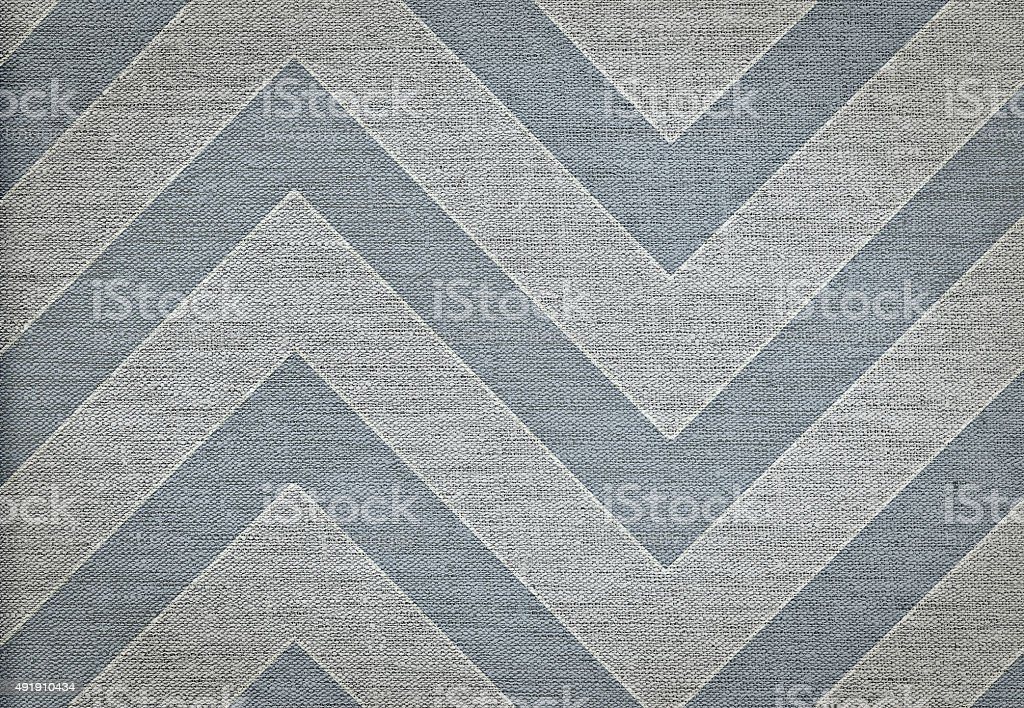 Classic chevron pattern background, grunge canvas texture, hi res stock photo