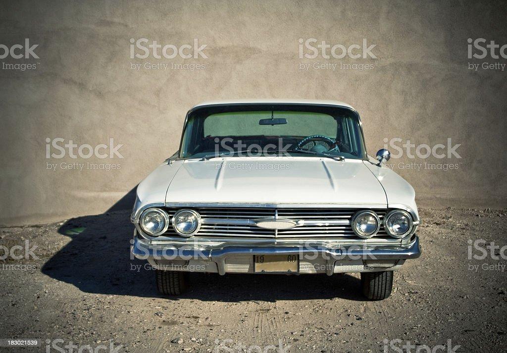 Classic Chevy Impala stock photo