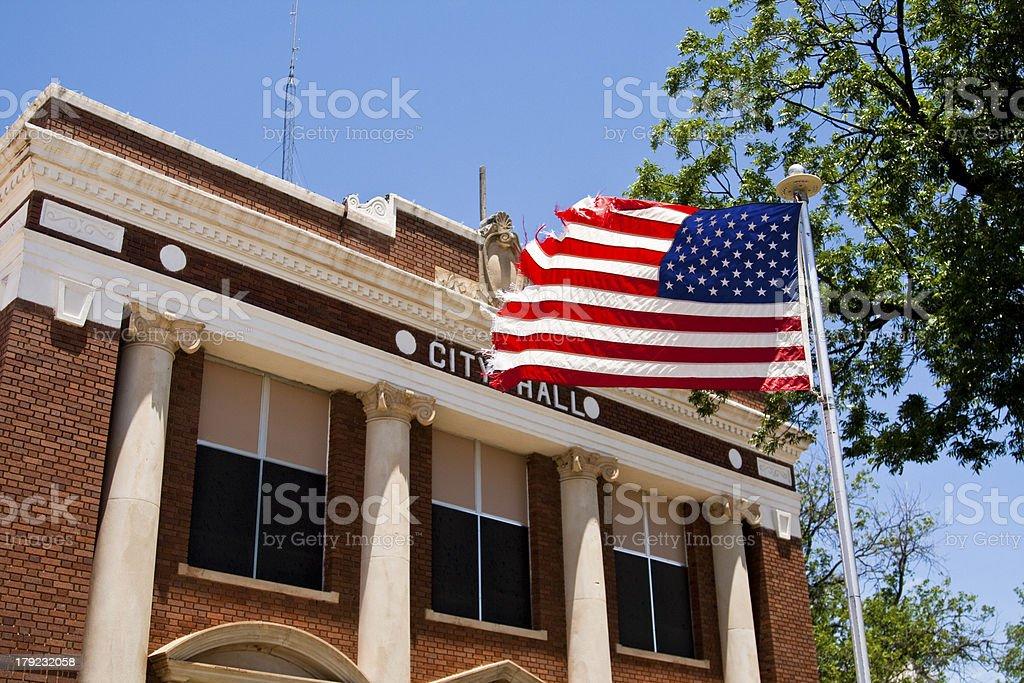 Classic City Hall stock photo