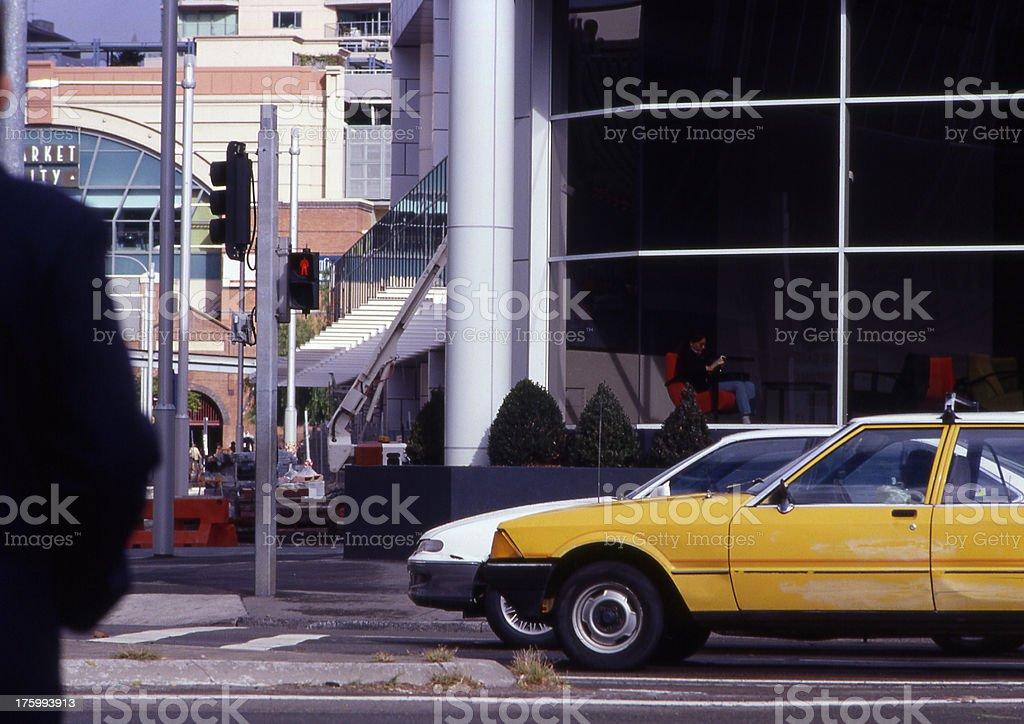 Classic city scene royalty-free stock photo