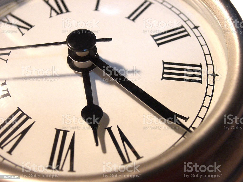 Classic Clock Face royalty-free stock photo