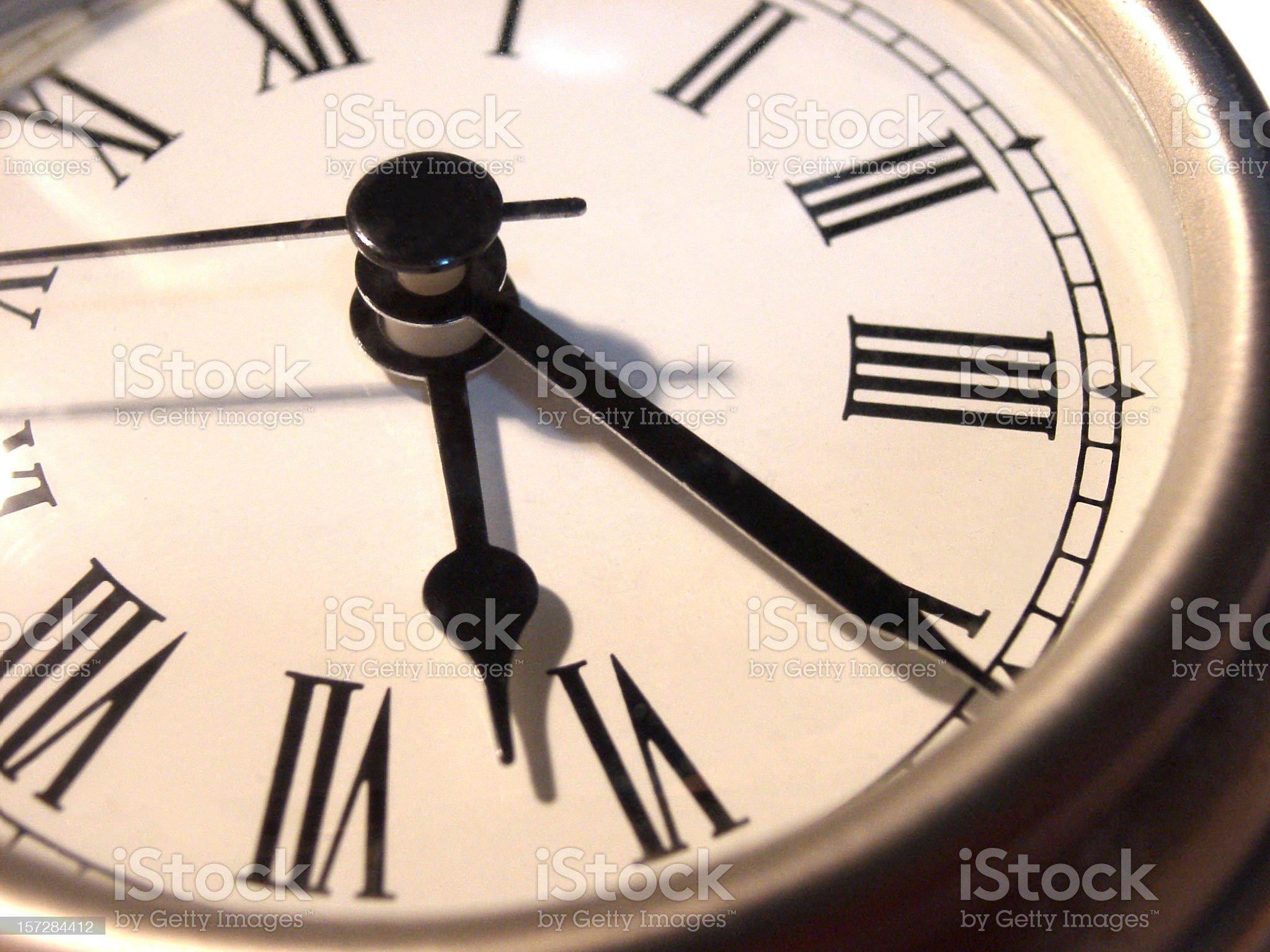 Classic Clock Face royalty-free stock photo
