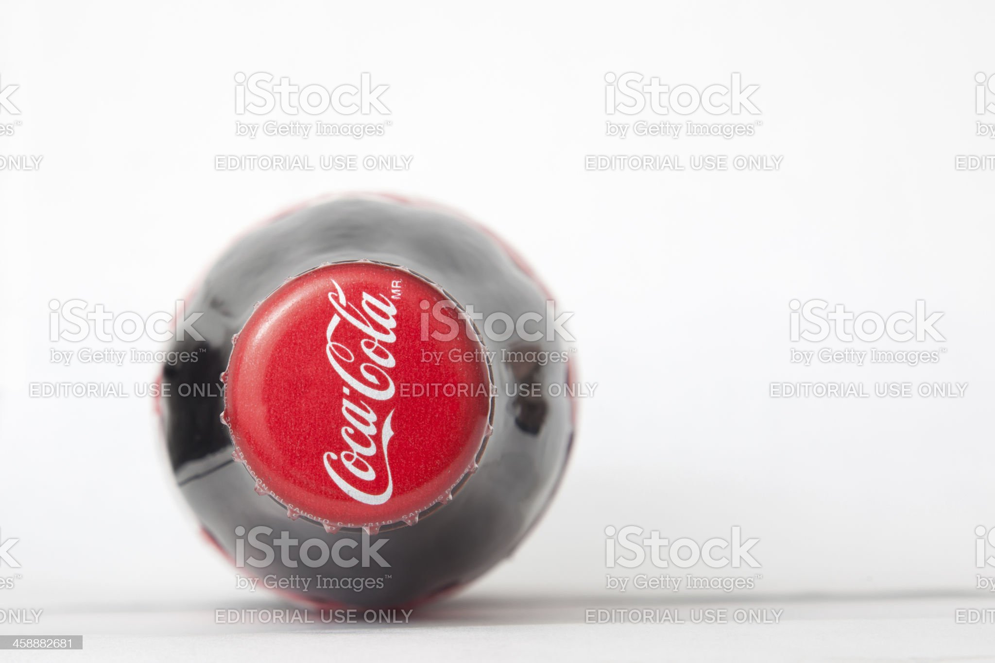 Classic Cola bottle royalty-free stock photo