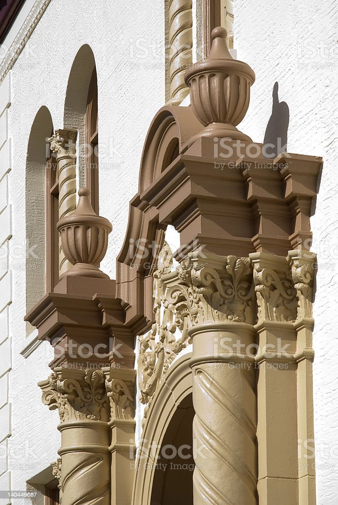 Classic Columns stock photo