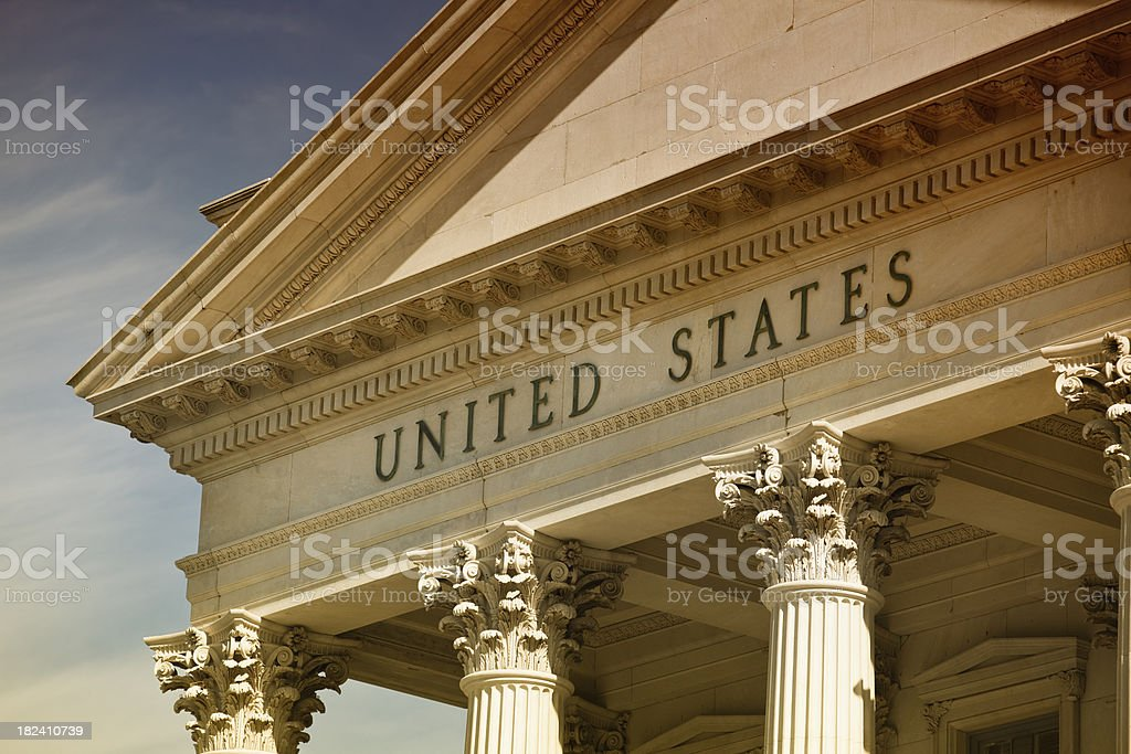 Classic columns royalty-free stock photo