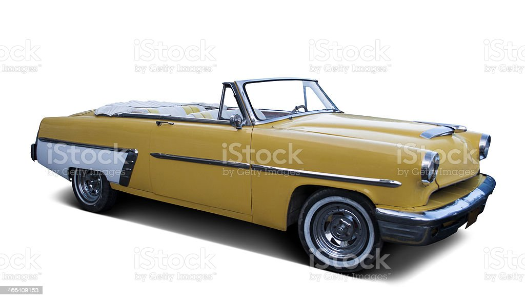 Classic Convertible stock photo
