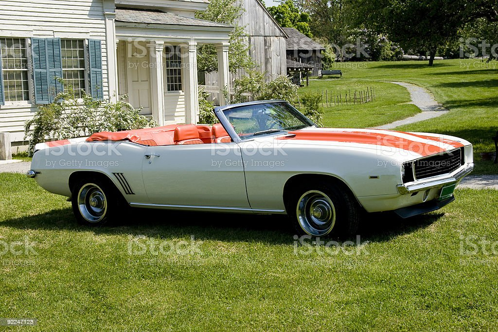 Classic convertible royalty-free stock photo
