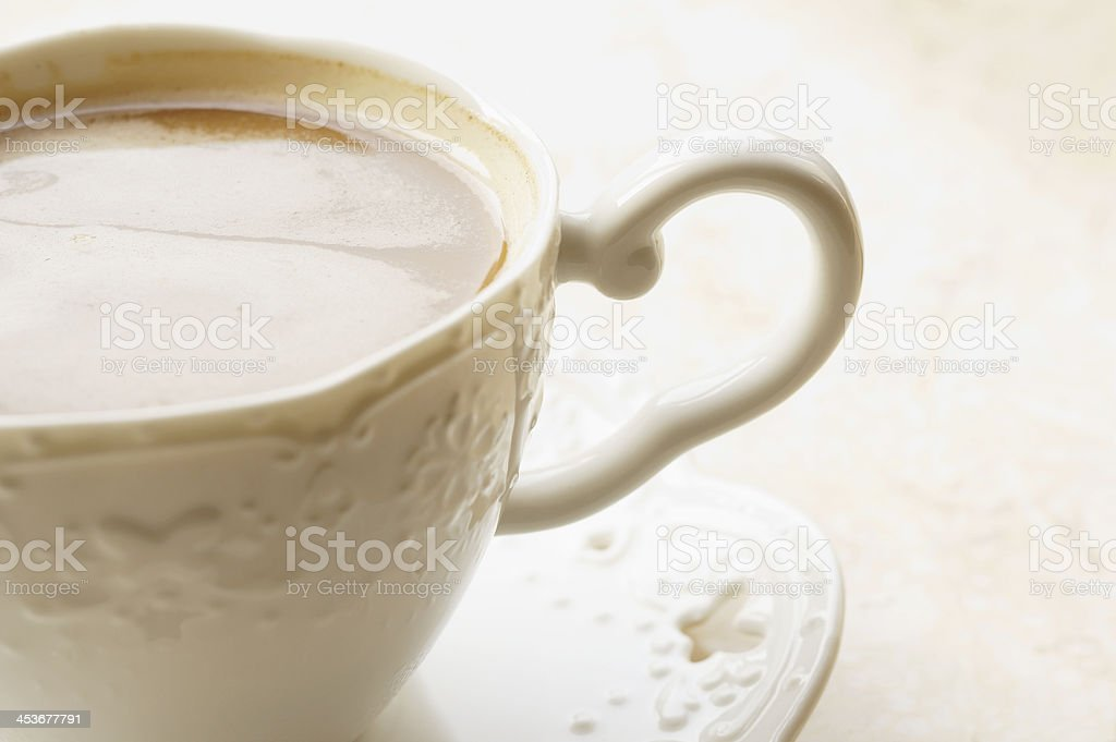 Classic Cup of Coffee royalty-free stock photo