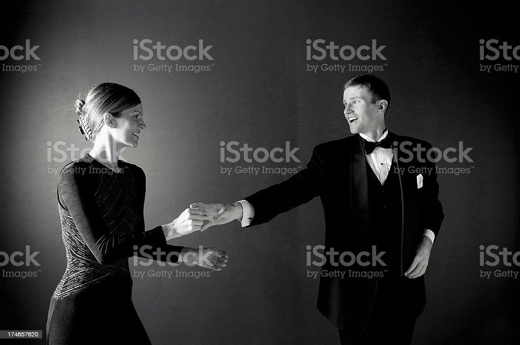 Classic Dance royalty-free stock photo