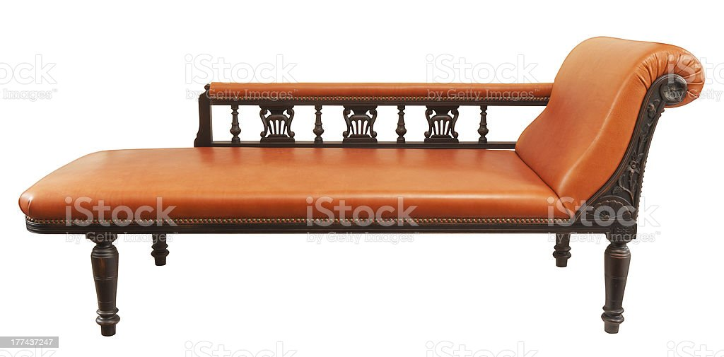 classic daybed stock photo