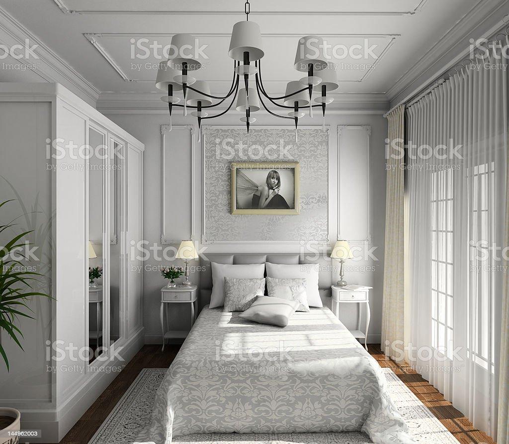 classic design of interior royalty-free stock photo
