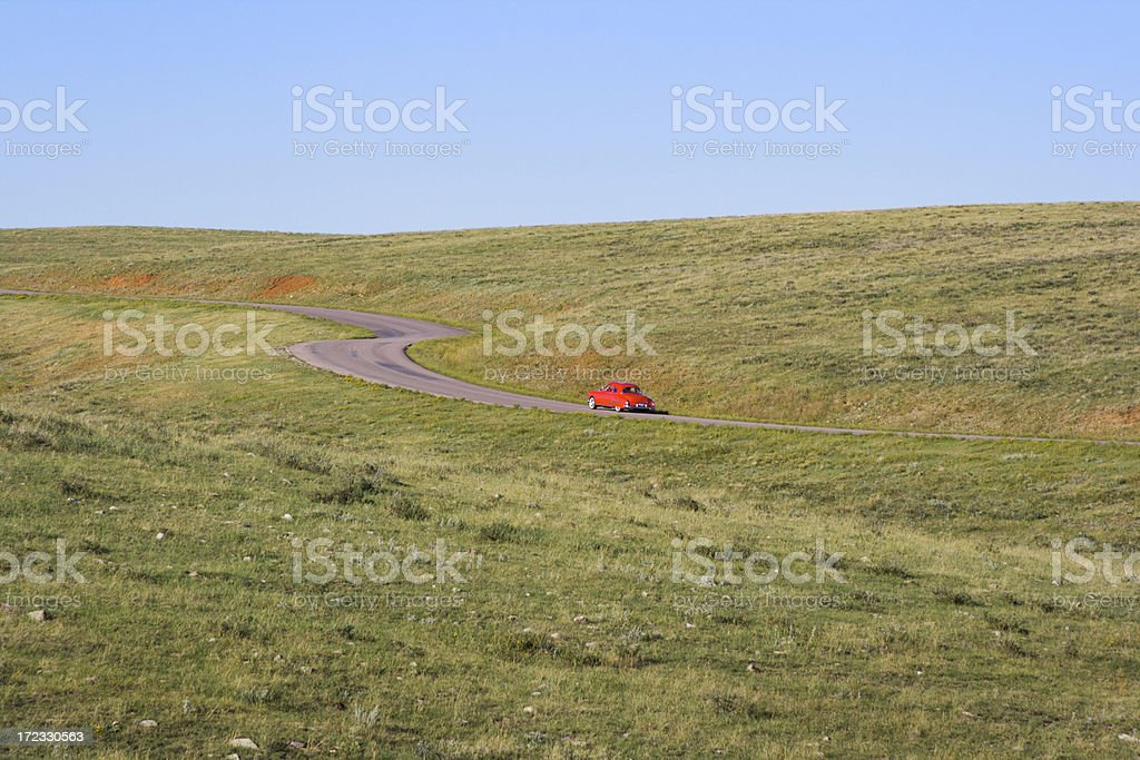 Classic Drive royalty-free stock photo
