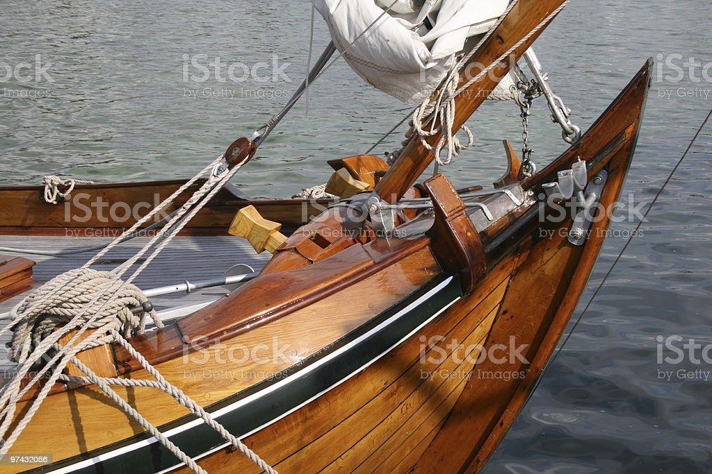Classic Dutch Ship royalty-free stock photo