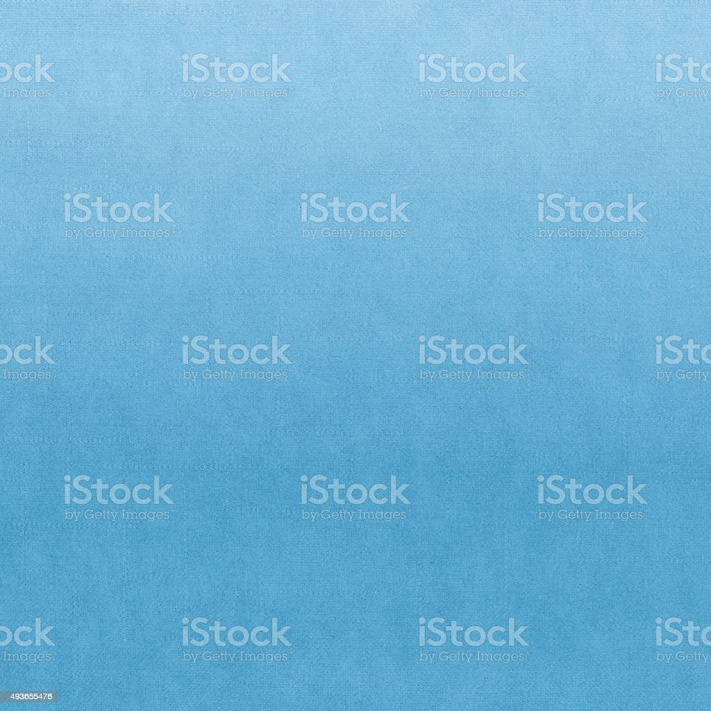 Classic fabric soft textured gradient background in light blue colour stock photo