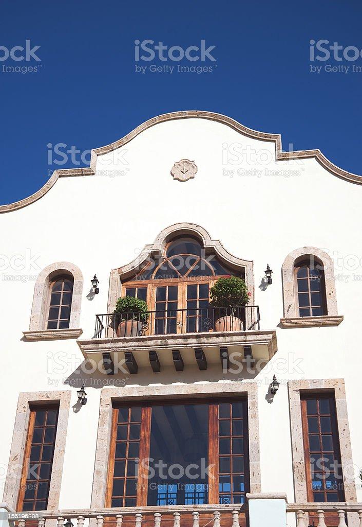 Classic facade royalty-free stock photo