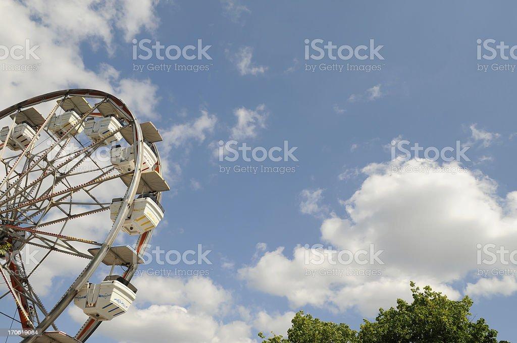Classic Ferris Wheel royalty-free stock photo