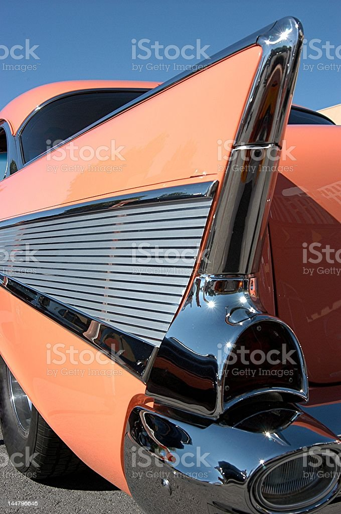 Classic Fifties Auto royalty-free stock photo