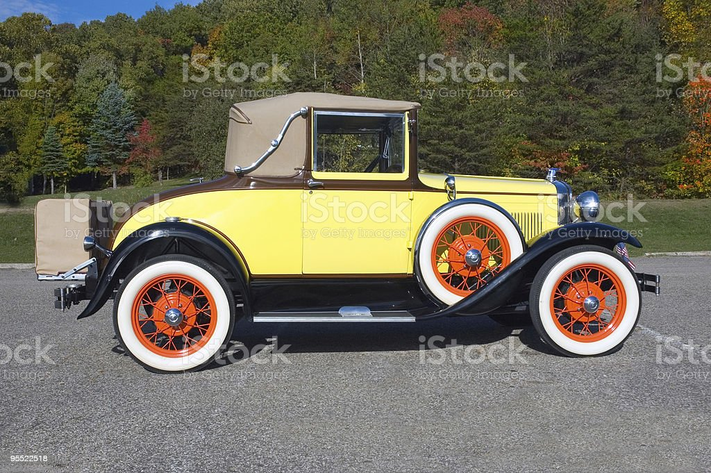 Classic Ford Model A Car royalty-free stock photo