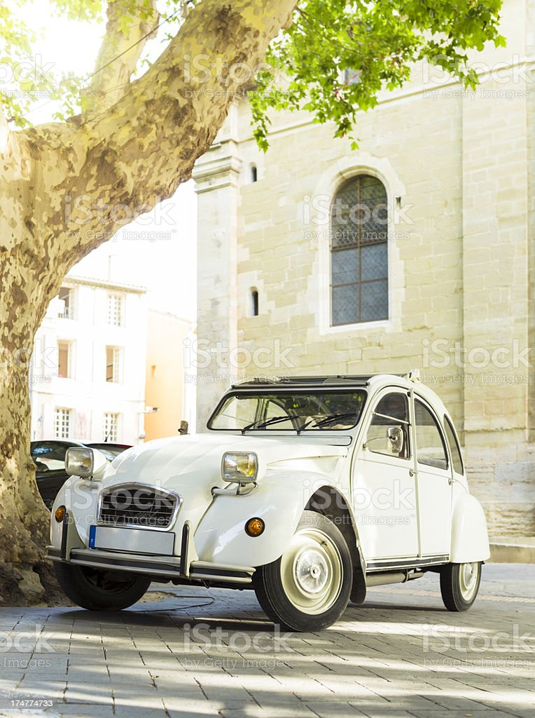 Classic French car royalty-free stock photo