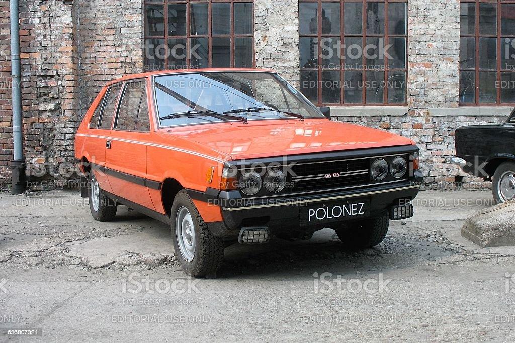 Classic FSO Polonez stock photo